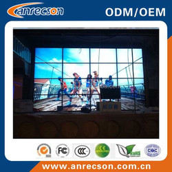 ultra narrow bezel 47 inch lcd video wall/big advertising screen/led xxxx video xxx wall