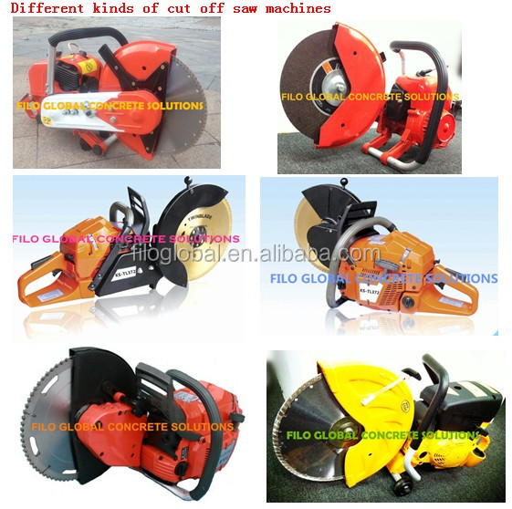 3500W gasoline power cut off saw,64.7CC