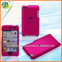 Peach blossom Rubberized mobile phone case For ipod touch4