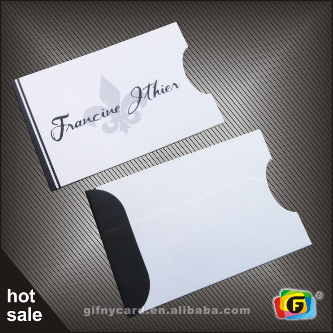 pvc card 0075 - Business Card Sleeves