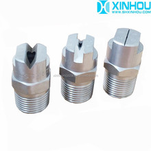 Industrial water spraying medium flow flat fan nozzle