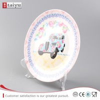 customized long service life bulk ceramic soup plates