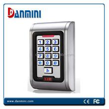 IP68 Waterproof Rfid Card & Pin Metal Access Control F104