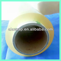 supermarket use 350mm and 400mm width pvc cling film plastic packaging film