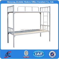2015 popular high quality new bed design double decker bunk bed for school dormitory military price of bed