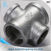 3 inches steel 4-way welded Socket Pipe Fittings Cross