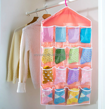 2015 New Wardrobe Storage Bag Classify Organizer Hanging Bra Panties Socks Organizer Bag