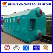 Thermal coal or wood fired steam boiler or hot water boiler