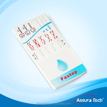 Medical 10 in 1 drugs rapid test panel with urine adulteration strip