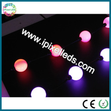 Programmable smart multicolor light 360 view led flashing bouncing ball