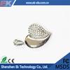 OEM Customized design diamond usb flash drive 500gb wholesale