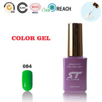 Grass Green UV Nail Polish for Wholesale Beauty Supply Store Fashion Woman Small Indonesia Cosmetic OEM Makeup