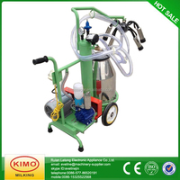 Newest design cheapest vacuum single cow milking machine for sale