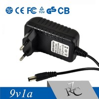 100% Brand New Factory Wholesale Desktop AC Charger 9V 1A For Laptop