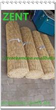 ZENT-66 Natural black rolling bamboo fence/bamboo panel