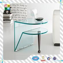 unique design elegant clear acrylic bed side tables/luxury Custom High Quality acrylic computer desk side tables/sofa side table