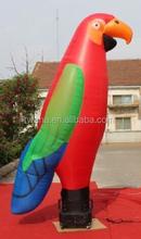 Outdoor/indoor display/inflatable bird/parrot inflatable/red/inflatable animal cartoon for marketing advertising W456