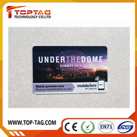 PVC Laser Card for RFID business card visiting card