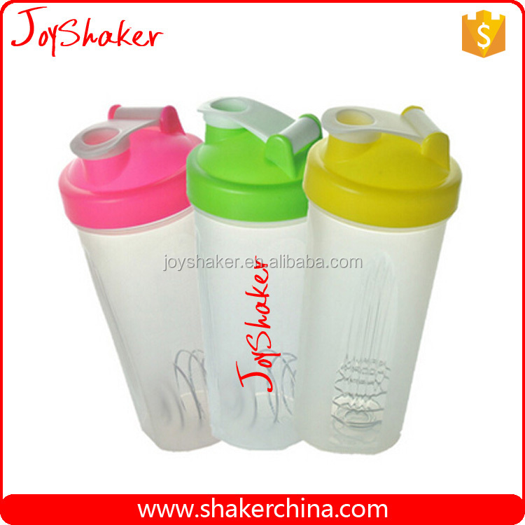 Protein Shaker Logo: Plastic Custom Logo Protein Shaker Bottle Bpa Free