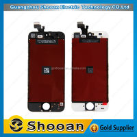 wholesale foxconn for iphone5 lcd with digitizer screen