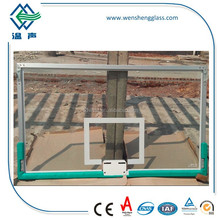 tempered glass for basketball backboard