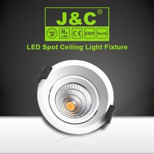 6W recessed high lumen led light wide beam spot with CE,RoHS