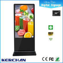 Ultra slim Android Network 55 inch lcd economic photo frames for pictures