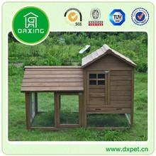 wooden double decker custom metal rabbit hutch