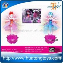 venta al por mayor de hadas rc flutterbye muñeca de hadas de vuelo para los niños con la luz