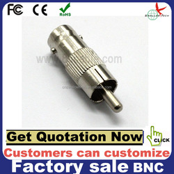 factory sale RCA to BNC connector adapter paypal is accepted bnc connector rca