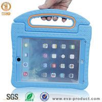 New arrival fashionable handle stand protective cover case for ipad 6 tablet