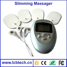 Let fat exercise burn and decompose Slimming massager for body with 4 pads