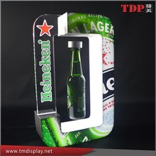 Wholesales Acrylic Magnet Levitating Bottle Glorifier Display Stands for Bar China Factory Manufacturer