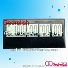 Professional tiny mp3 type portable green color lcd digital timer 99 min 59 sec with magnet with CE ROHS UL