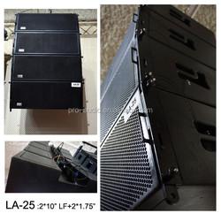 dual 10 inch line array speaker