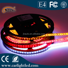 1210 600 SMD RGB Led Strip Lighting White PCB Flexible Led Strips Light 12V Waterproof CE