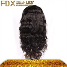 Complete cuticle virgin raw hand made front lace wigs