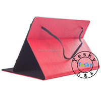 Crazy Horse Pattern Tablet Sleeve Leather Stand Case Cover For Android 10 inch Tablet