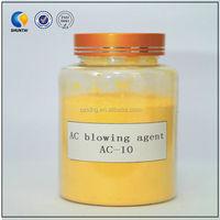 Ac blowing agent for EVA/PE/PVC/NR/EPDM