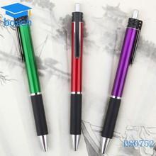 2015 cheap hot selling logo gift pens for men fashion plastic ball pen
