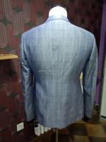 2014 spring / autumn hot sale linen blazer men's slim fit business suits