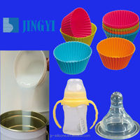 Food Grade RTV Liquid Silicone Rubber For Food Baking Pan Mould/Silicone Cake Molds