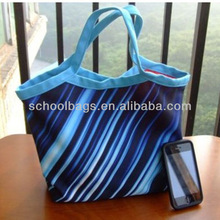 2014 New Factory Price Tote Bag With Stripe