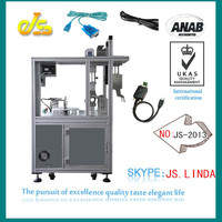 Fully automatic logo printed twist tie machines JS-2013