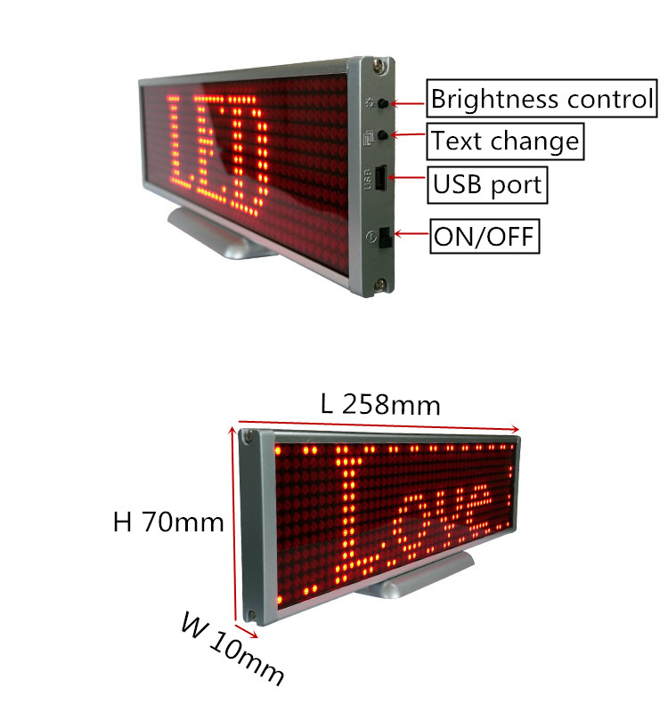P5-12x48R table led sign 6