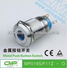 factory price export Metal dot illuminated push button switch, Anti-vandal push button switch,Momentary push button