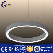 Samsung SMD chip high efficiency round led ring suspension light for office/commercial lighting