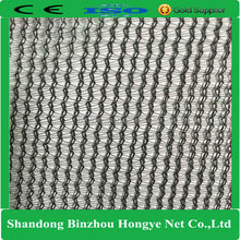 HDPE Round Wire Knitted Shade Net/Shade Net used in Tree Protection/ Green Sun Shade Net