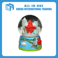 The interior landscape city crystal ball music creative household gifts
