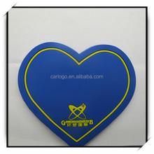 Wholesale beautiful love heart shaped Pvc Key Holder Keychain Keyring